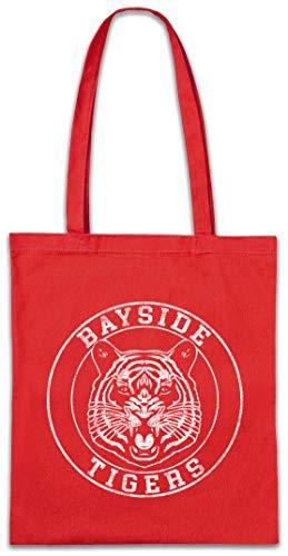 Urban Backwoods Bayside Tigers Fighting Hipster Bag Beutel Stofftasche Einkaufstasche -