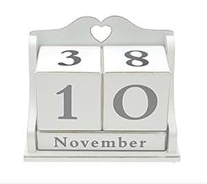 lesser pavey ewiger kalender aus holz 17 cm. Black Bedroom Furniture Sets. Home Design Ideas