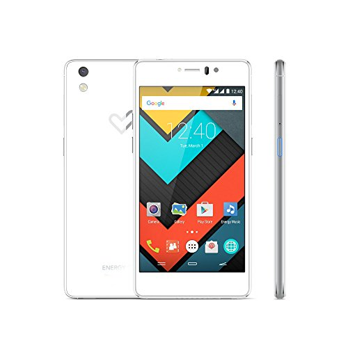 "Energy Sistem Phone Pro 4G Pearl (3GB/32GB, 4G LTE, 5"" AMOLED HD, ocho núcleos, Android 5.1, cámara trasera de 13Mpx con AF y flash, cámara frontal de 5Mpx con ángulo FOV de 84,3º y flash LED, Bluetooth, ) - Blanco"