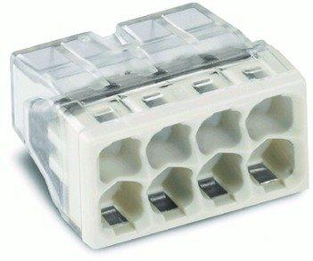 Preisvergleich Produktbild 2273-208 - COMPACT-Verbindungsdosenklemme, 8-Leiter-Klemme