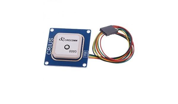 Sunlera NEO-6M GPS-Modul EEPROM Kompatibel f/ür MWC//AeroQuad Antenne Kompatibel f/ür Arduino Flight Control Aircraft