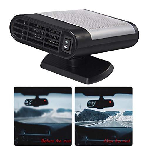 Riscaldamento auto, pertaka 12 v auto portable heater 150 watt, riscaldamento veloce sbrinamento rapido defogger demister ventola di raffreddamento del calore del veicolo (gray)