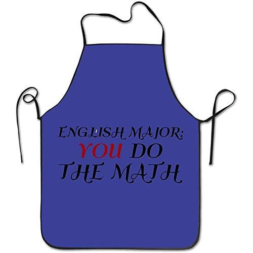 Nicole Salome English Major You DO The Math Niedliche Küchenchef-Schürze