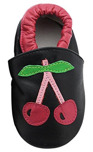 BonaMart , Baby Jungen Lauflernschuhe Black Cherry 6-12 (Schuhe Herren Großhandel)