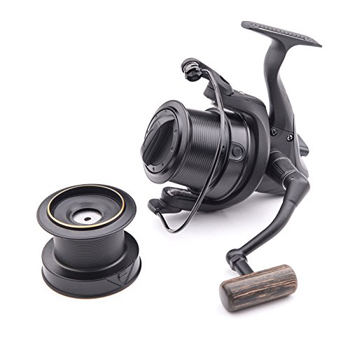 Wychwood Riot Big Pit 65S Carp Fishing Reel 5+1 Bearing 5:1 Retrieve Ratio with Spare Spool -