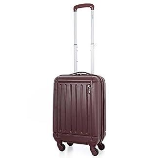 5 Cities Llevar capa de ABS viaje en el equipaje equipaje de mano con cuatro ruedas, aprobado por Ryanair, Easyjet, British Airways, Jet2, Monarch y más
