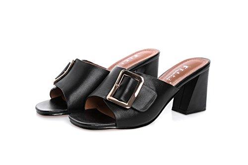 ZYUSHIZ Weibliche Sandalen die Philippinen mit Rutschfeste Outdoor Freizeitaktivitäten Sandalen Hausschuhe 36EU