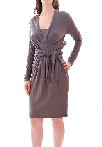 BLACKY DRESS Kleid grau DE 40
