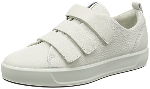 Ecco Ladies Soft 8 Ladies Sneaker Bianco (1007white)