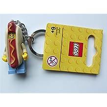 LEGO City: Hot Dog Guy Llavero