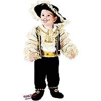 VENEZIANO Novidea Costume Vestito Carnevale Bambino Baby Corsaro Pirata 12  18 24 Mesi 1 2 Anni ea5e7b5c13c