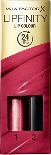 Max Factor Lipfinity 335 Just in Love, 1er Pack (2 x 2 ml) - Max Factor-entferner