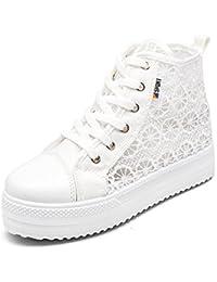 Chaussures Femme Vinstoken Chaussures Plate-forme Talon Été Depotiva 3.8cm Blanc Noir Blanc 35-42 36 QAZFzqOI3S