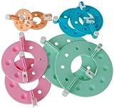 4-Size Pom-Pom Pompom Maker Fluff Ball Weaver - Random Color