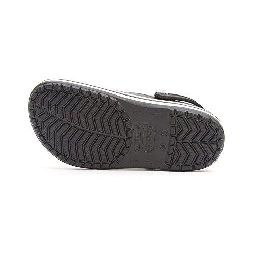 Crocs Crocband Unisex - Erwachsene Clogs Schwarz (Black)