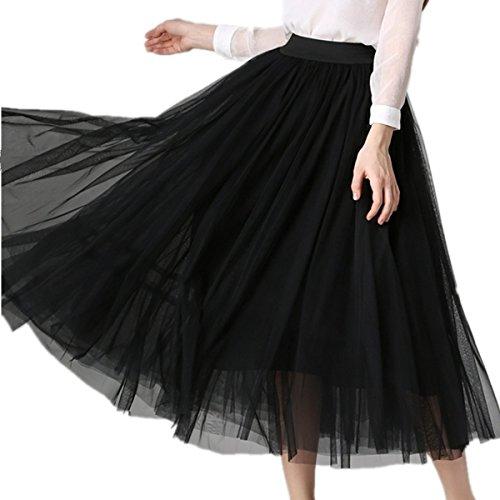 JYDress - Robe - Trapèze - Femme Noir