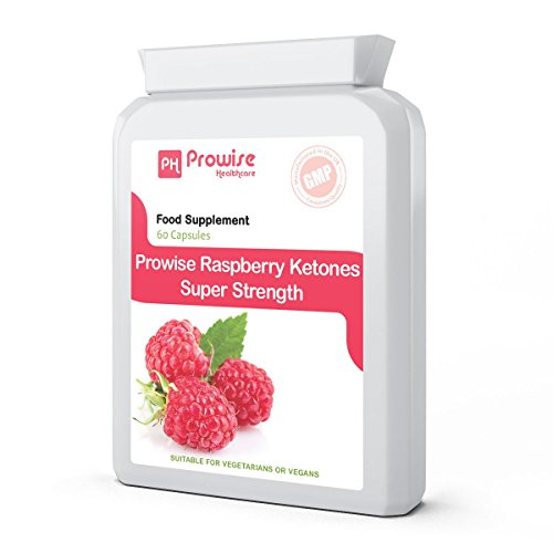 Raspberry Ketones Weight Loss Extra Strength 600mg ( 60 Capsules ) - Fat Metabolism, Weight Management, Fat Burner, High Quality Natural Ingredients, UK Manufactured, Suitable for Vegetarians & Vegans, GMP Test