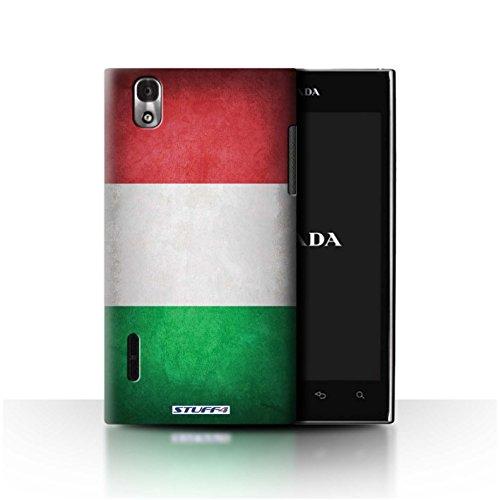Stuff4 Hülle / Case für LG Prada 3.0/K2/P940 / Italien/Italienische Muster / Flagge Kollektion