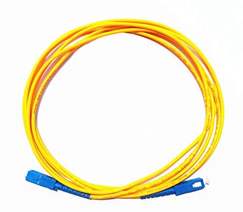 Lianshi SC-SC SingleMode Cable Fibra óptica Parche
