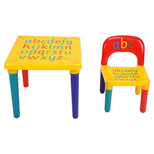 Cocoarm Kindertisch,Baby Tisch Stuhl Für Kinder ab 3 Jahren Kindersitzgruppe,Tisch Essen Ausziehbar Stuhl,Tisch Kindertisch Set,Babysitz Tisch