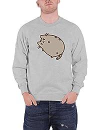 Pusheen Sweat-Shirt Grumpy Tabby Cat Cartoon Character officiel nouveau Unisex