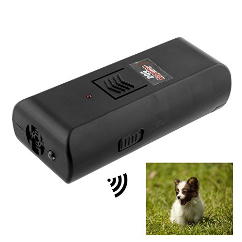Q4 Antirinde-Ultraschall; Stop Barking Trainingsgerät für Ultraschall Hunde Belling Control. -