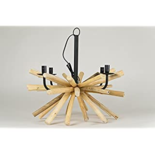 Arun Pendant Light Wood Real Fair &body Hand-Made