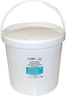 Magnesium Chloride Flakes 10kg tub from Dead Sea Origin