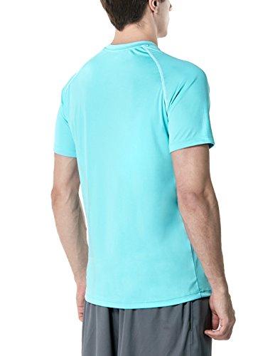 Tesla Hyperdri Chemise à manches courtes T-shirt athlétique Course Top Mts03 TM MTS03-SWZ