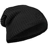 Buff Original Knitted & Polar Hat Solid Unisex Adulto, Talla Unica, Color Drip Black