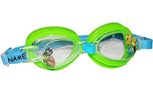 Ninja Großen Schildkröten Die (Schwimmbrille / Taucherbrille / Chlorbrille -