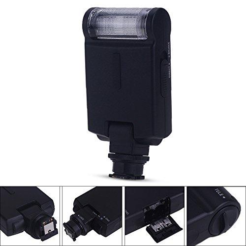 fitTek® Travor SL-282S TTL Digital Blitzgerät Externe Speedlite Flash für Sony Alpha und SLT/NEX Digital SLR Kameras /sowie Sony α 7 α 7R α 7S α 7II α 6000 α77 Alpha Digital Flash