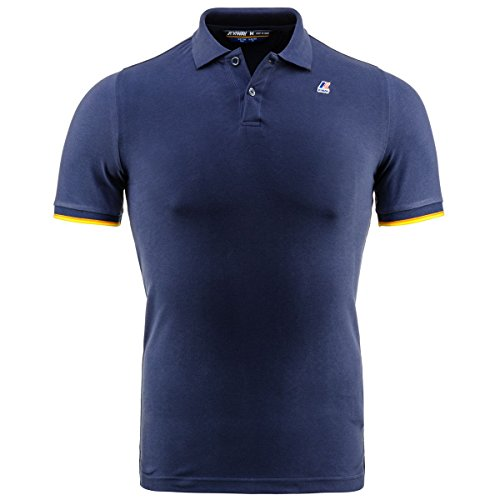 Polo Shirt - Vincent Contrast - Navy - XXL