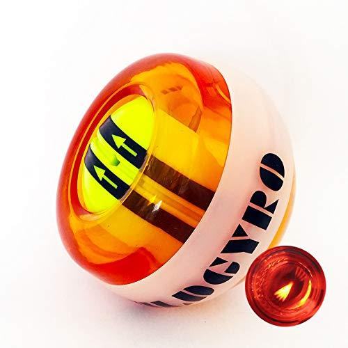 SPORS Bola de Entrenador de muñeca Powerball, silenciador de Rango de Inicio automático con LED, Bola...