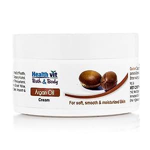 Healthvit Bath and Body Argan Cream, 50g