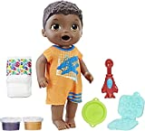 Baby Alive Hasbro Boy Doll Snackin' Luke, African American