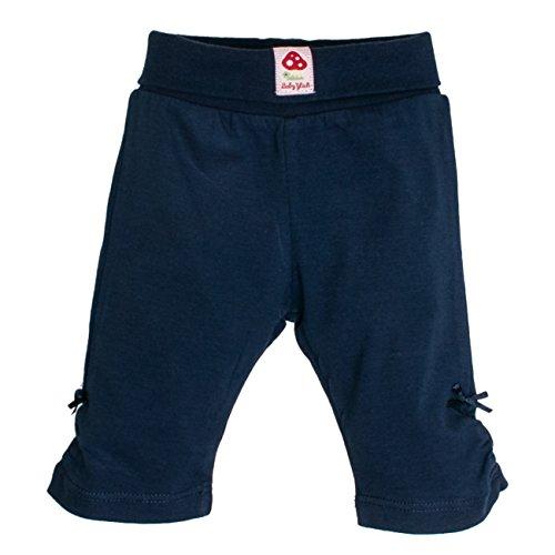 SALT AND PEPPER Baby - Mädchen Shorts BG Capri uni 73814246, Einfarbig, Gr. 74, Blau (navy blue 450)