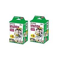 40 ورقة Fujifilm Instax Mini 9 طبقات بيضاء الحواف 3 بوصة للكاميرا الفورية 7 8 25 50s 70 90 sp-1 sp-2 ورق صورة (لا يتضمن حقيبة جلدية)