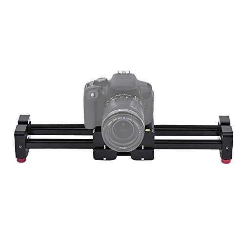 Andoer Retrattile Videocamera Slider Dolly 40 Centimetri Binario Stabilizzatore 80 Centimetri Effettivo Scorrevole Distanza Caricare Fino a 8 kg per Canon Nikon Sony DSLR Videocamere