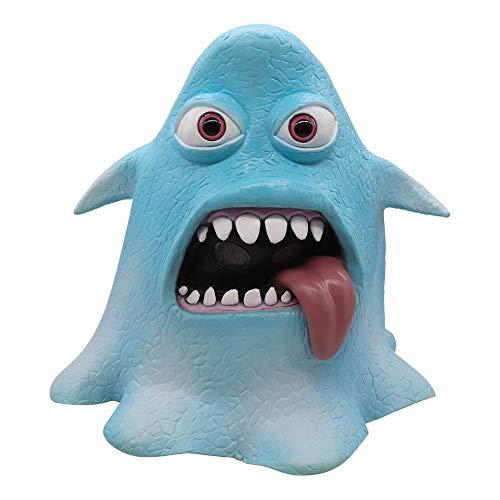 Kostüm Krake Einfach - Halloween Gesichtsmaske Horror Maske Krakenmaske Halloween-Maske Niedliche Lustige Kraken Maske Kostüm Cosplay Zubehör Für Festivals, Outdoor, SPO