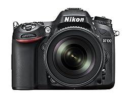 Nikon 1515 D7100 24.1Mp Digital Slr Camera (Black) With Af-S 18-105Mm Vr Lens, 4Gb Card, Camera Bag