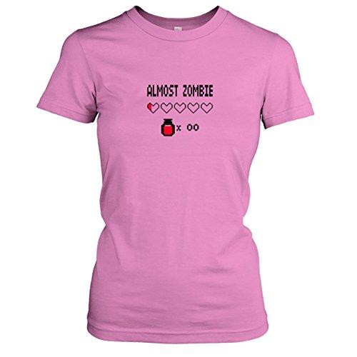 TEXLAB - Almost Zombie - Damen T-Shirt Rosa