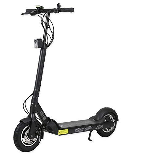 EGRET-Ten-V3 E Scooter Elektroroller Erwachsene - Testsieger Bild 2018 - Elektro Roller 30km/h & 42km Reichweite - E-Scooter Erwachsene für bis zu 100 kg
