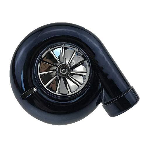 Deodorante per profumo auto a turbina modificata con aria condizionata rotante Aria condizionata Aroma personalizzato decorazione-nero