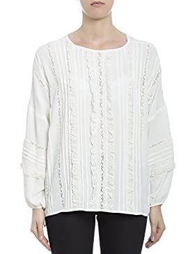 P.A.R.O.S.H. Mujer D310253ANJA002 Blanco Acetato Blouse