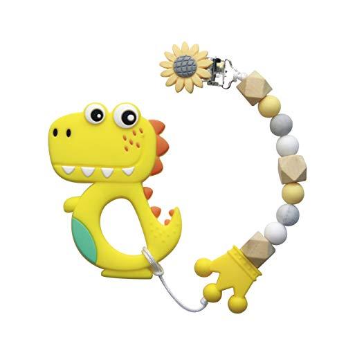 Mordedor bebes Baby Teething Toys Juguetes de dentición para bebés, conjunto de...