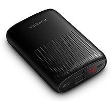 Puridea S16 Power Bank 10000mAh,cargador portátil dual puerto de USB (5V/2.1A entrada Lí-polímero) Batería externa con LED pantalla indicada para iPhone, iPad, Huawei, Samsung Galaxy etc.