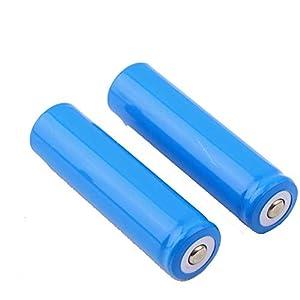 Due gruppi 18650 Lithium Ion 5000mAh 3.7V batteria ricaricabile per torcia a LED