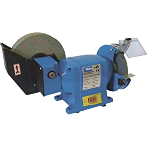 Gude 40350 amoladora de banco 2 discos 2950 RPM 350 W – Bench grinders (2 discos, Azul, 2950 RPM, 350 W, 2 cm, 8,8 kg)