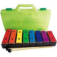 FairytaleMM TL8-15 8 Notas Xilófono Instrumento de música para niños pequeños con Caja (Color Mezclado)